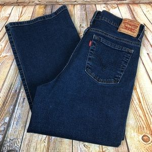 Levi's 512 Perfectly Slimming Boot Cut Denim Jeans